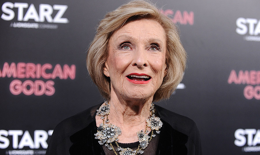 Cloris Leachman at the <em>American Gods</em> premiere on April 20, 2017 in Hollywood. Photo: &copy; Jason LaVeris/FilmMagic