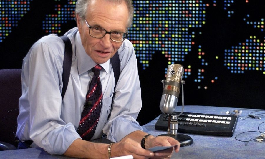 <h2>Larry King</h2>