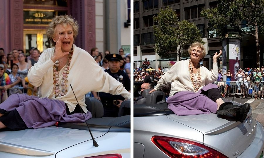 Cloris was the celebrity grand marshal at the 2009 San Francisco Pride Parade. Photos: © David Paul Morris/Getty Images