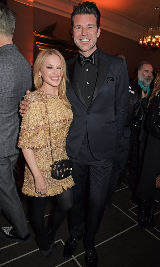 <h2>Kylie Minogue and Paul Solomons</h2>