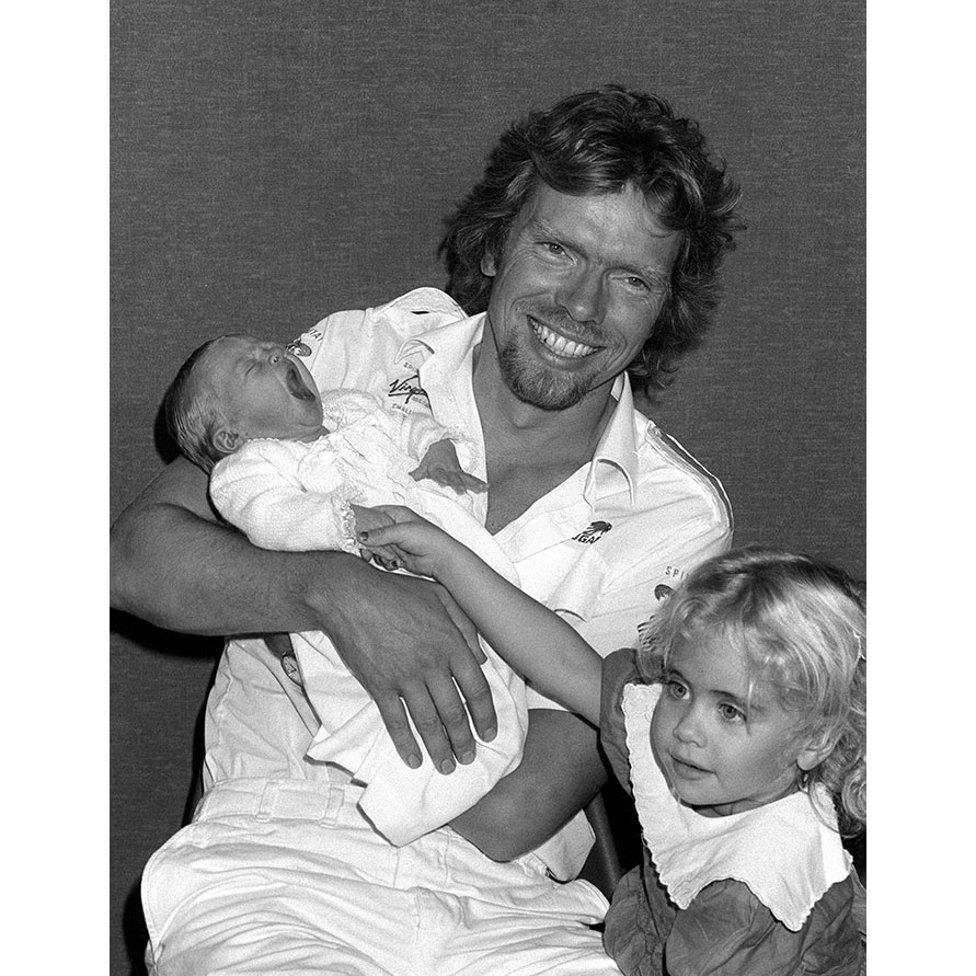 <h2>Richard Branson and Joan Templeman</h2>