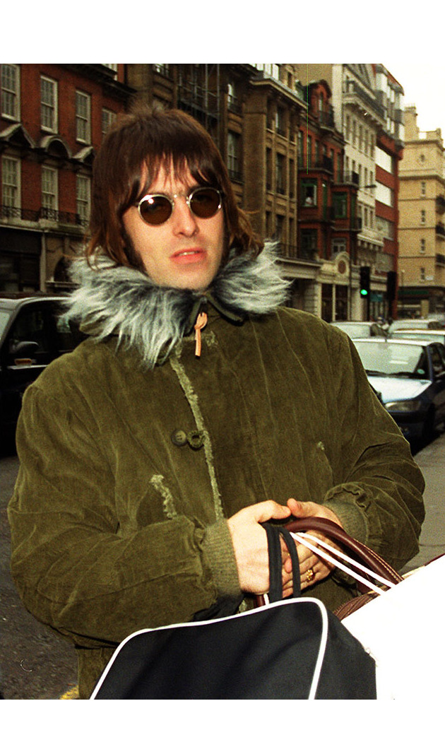 <h2>Liam Gallagher and Patsy Kensit</h2>