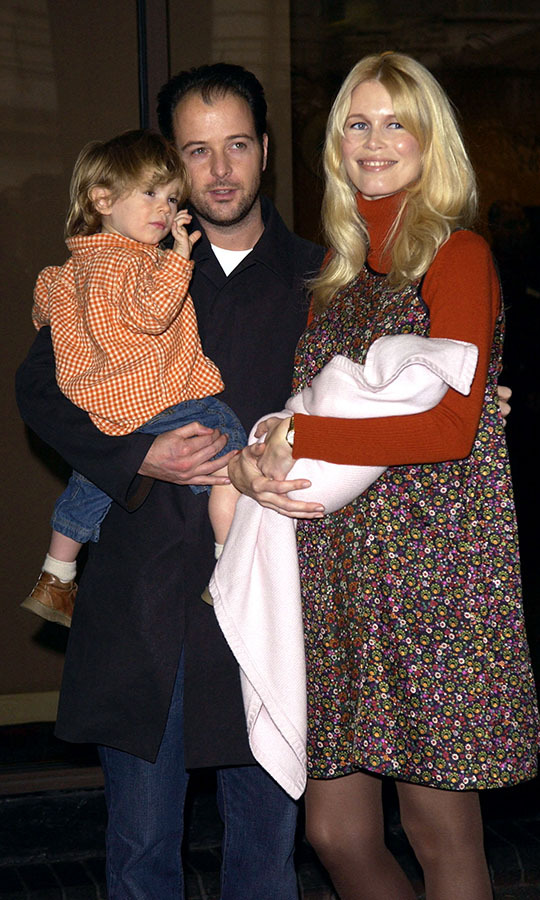 <h2>Claudia Schiffer and Matthew Vaughn</h2>