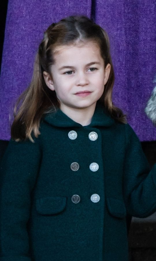 Princess Charlotte at the Royal Family's Christmas Day service at Sandringham in 2019. Photo: © Pool/Samir Hussein/WireImage