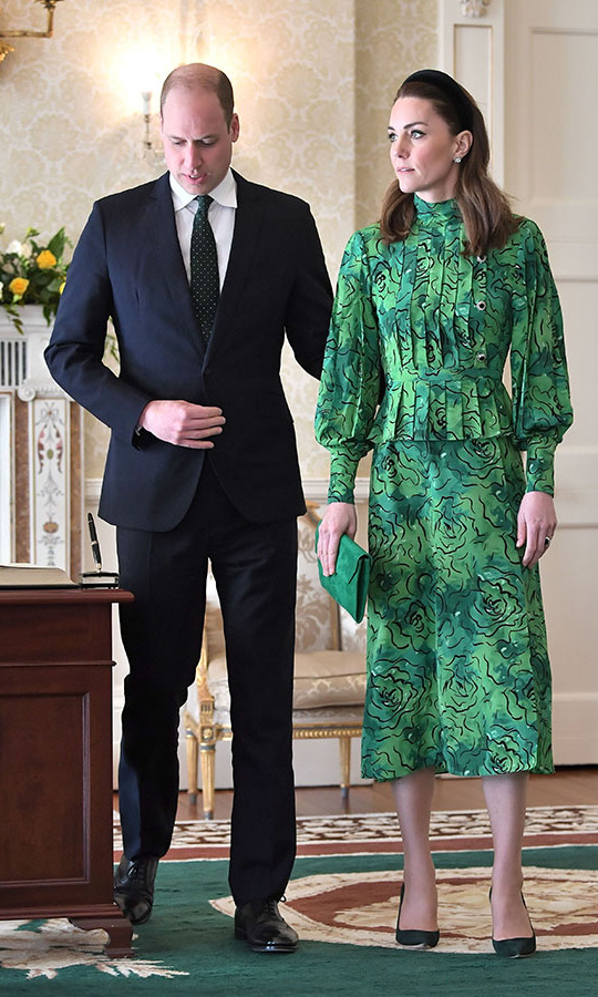 Kate and William looked so stylish when they arrived in Ireland on March 3, 2020.