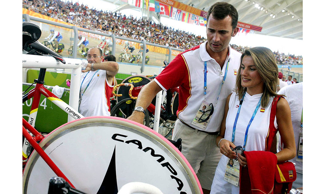 <a href=/tags/0/king-felipe><strong>King Felipe</strong></a> and <a href=/tags/0/queen-letizia><strong>Queen Letizia</strong></a> also enjoyed the 2004 Olympics in Athens.