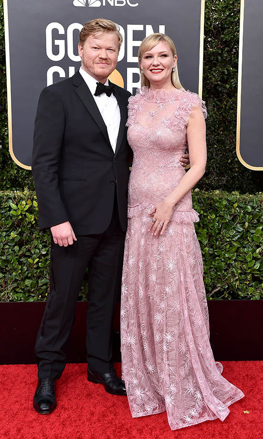<h2>Kirsten Dunst and Jesse Plemons</h2>