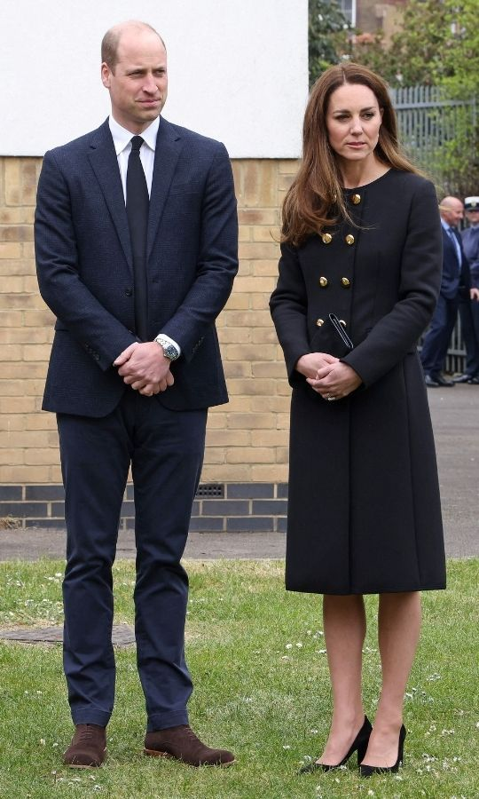 The <strong><a href=/tags/0/british-royals>Royal Family</a></strong> is still in a period of mourning for Philip, which means they need to wear black or dark clothing at any engagements during this time.