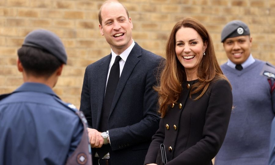It was great to see the Cambridges laughing after what have been a very difficult few weeks for the Royal Family.