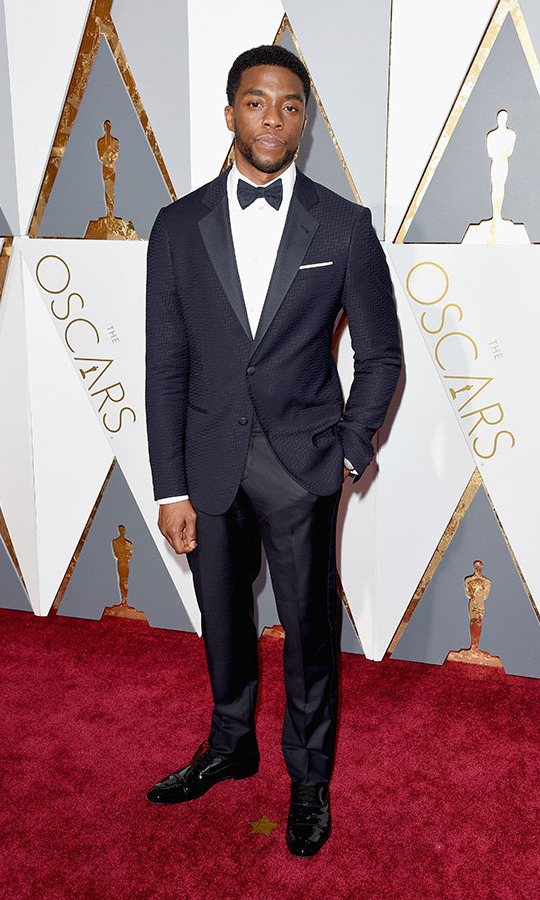 <h2>Chadwick Boseman, 2016</h2>