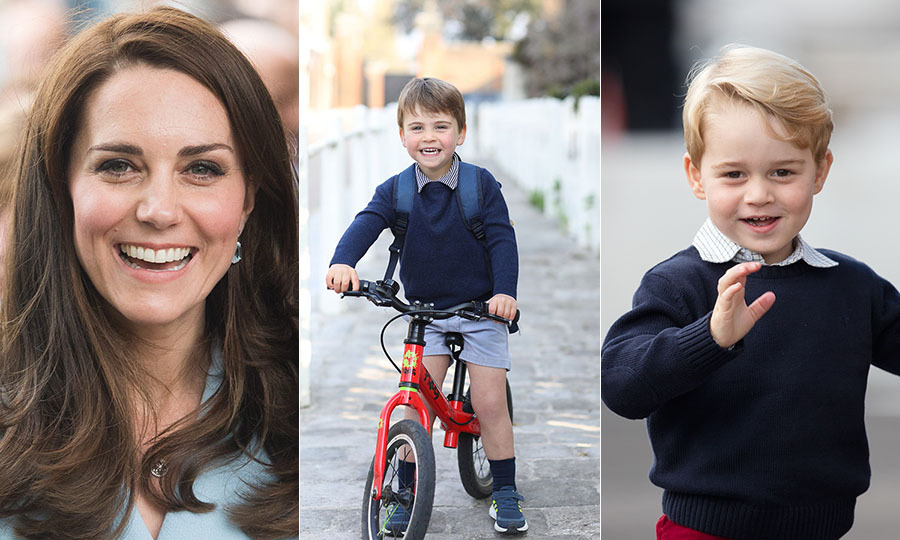 In April 2021, <a href=/tags/0/prince-william-and-kate><strong>Prince William and Duchess Kate</strong></a> released a portrait of <a href=/tags/0/prince-louis><strong>Prince Louis</strong></a> for his third birthday and first week at nursery school.