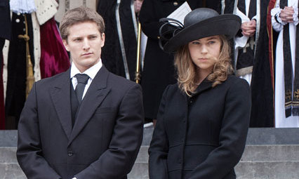 Baroness Thatcher's grandchildren had a central role in the funeral and in her life