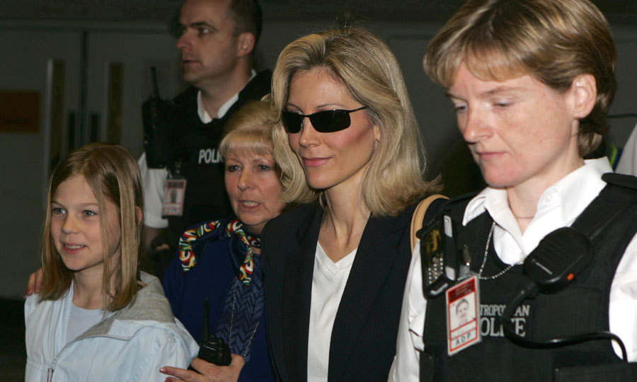 With her mother Diane in 2004