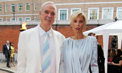 John Cleese and his wife