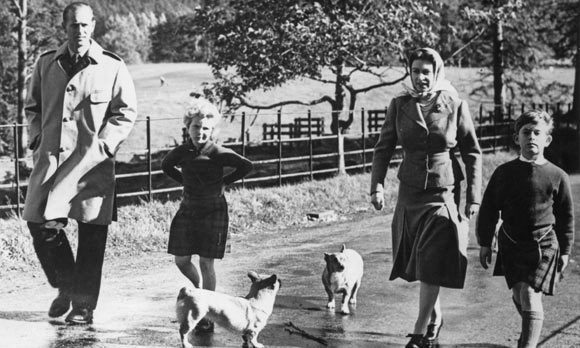 At Balmoral they behave less like royalty and more like landed gentry, hosting barbecues which they prepare themselves.  Margaret Thatcher was so baffled by the Queen's habit of washing up with bare hands, she sent her a pair of gloves.