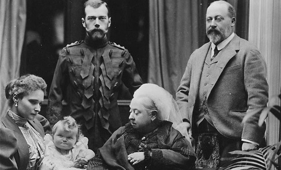 Nicholas II, Russia's doomed Tsar, and his wife Alexandra were her guests in 1896.