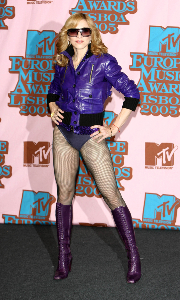 At the 2005 MTV European Music Awards in Lisbon.