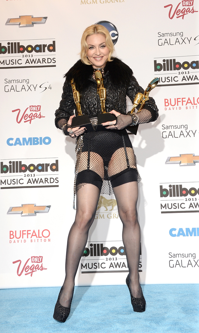 Still winning awards, at the 2013 Billboard Music Awards, May 2013.