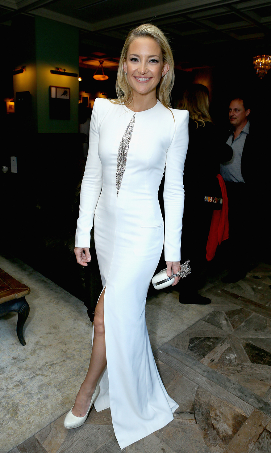 Actress Kate Hudson attends 'The Reluctant Fundamentalist' Soho House Grey Goose Vodka pre-gala screening party.