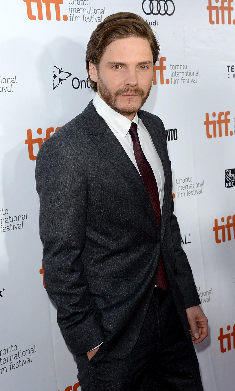Actor Daniel Bruhl at the The Fifth Estate premiere at the 2013 Toronto International Film Festival.