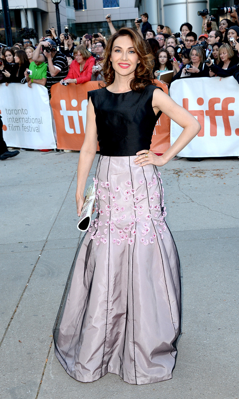 Actress Carice Van Houten at the The Fifth Estate premiere at the 2013 Toronto International Film Festival.