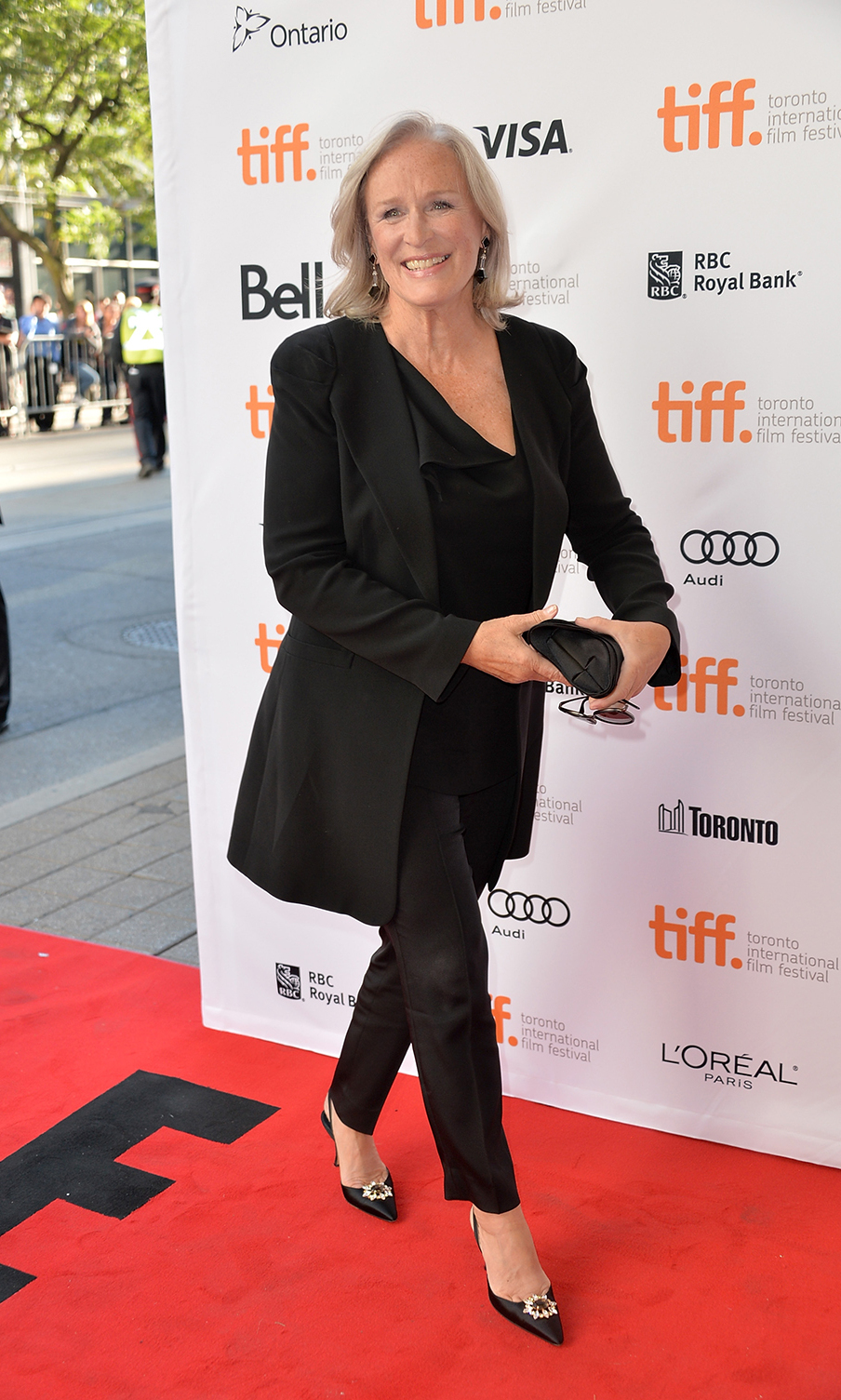 Actress Glenn Close at the The Big Chill premiere at the 2013 Toronto International Film Festival.