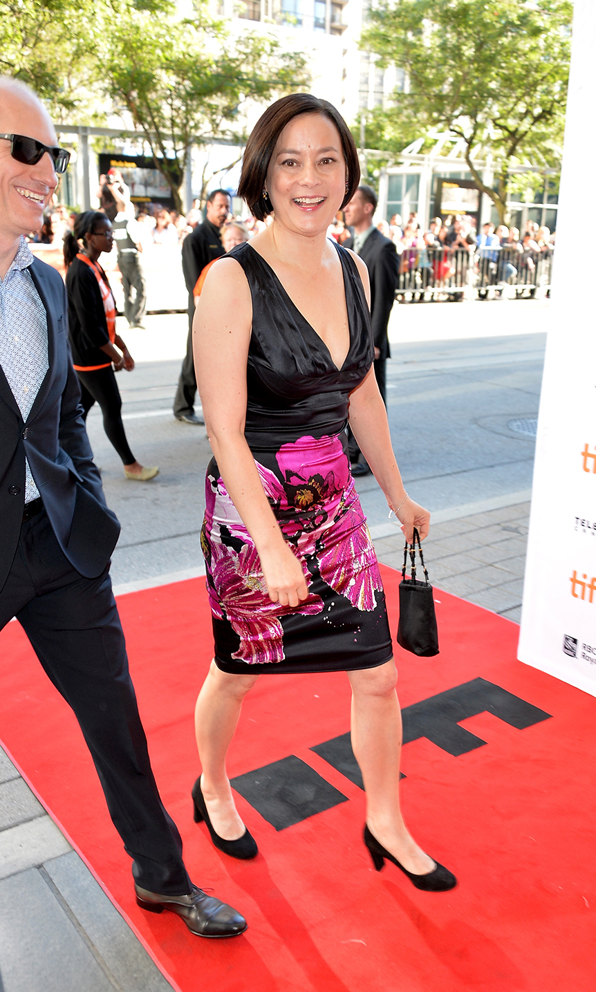 Actress Meg Tilly arrives at the premiere of The Big Chill at the 2013 Toronto International Film Festival.
