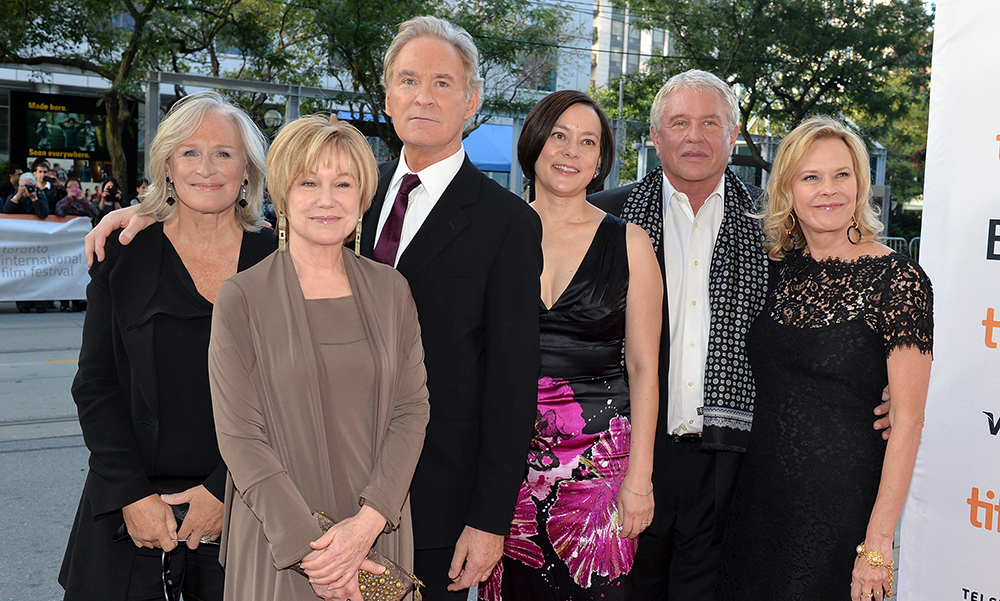 Glenn Close, Mary Kay Place, Kevin Kline, Meg Tilly, Tom Berenger and JoBeth Williams at the premiere for The Big Chill 30th Anniversary at the 2013 Toronto International Film Festival.