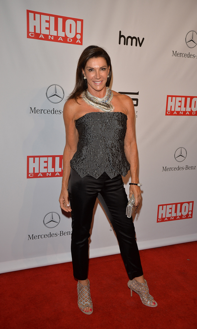 Hilary Farr at the Hello Canada's event