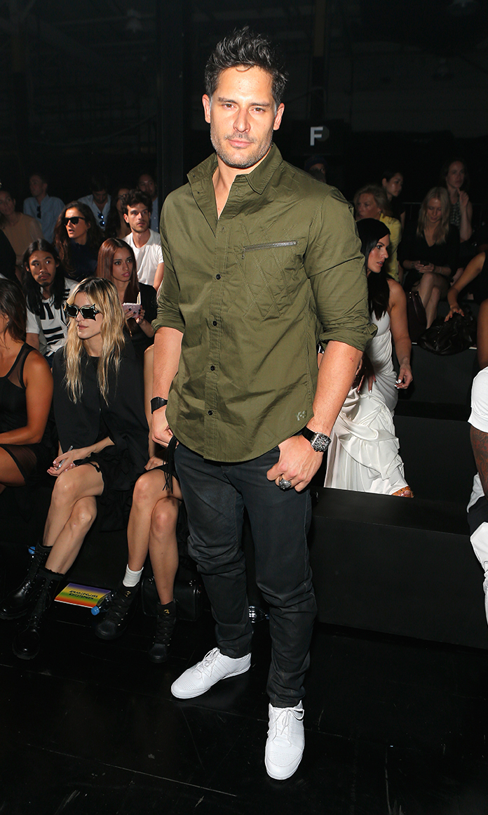 Actor Joe Manganiello attends the Y-3 Spring/Summer 2014 runway show during Mercedes-Benz Fashion Week on September 8, 2013 in New York City.