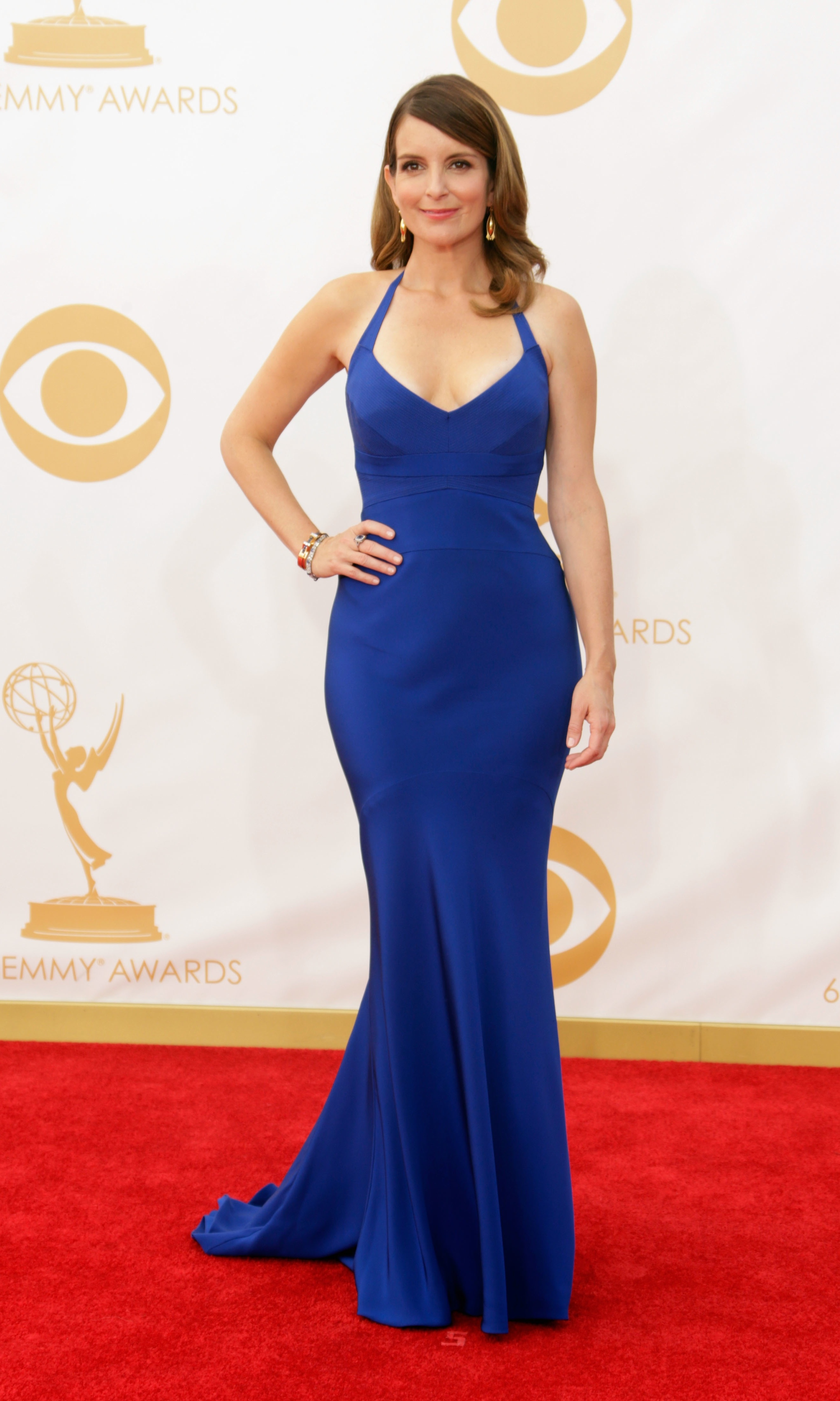 Best Dressed At The 2013 Emmy Awards Bright Colours