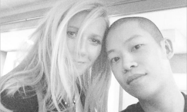 Gwyneth Paltrow joins Instagram on Thursday Oct. 3, uploading a selfie with designer Jason Wu as her first post.