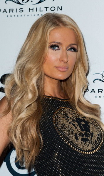 Paris Hilton attends her release party for the single 'Good Time' featuring Lil Wayne on Oct. 8, 2013.