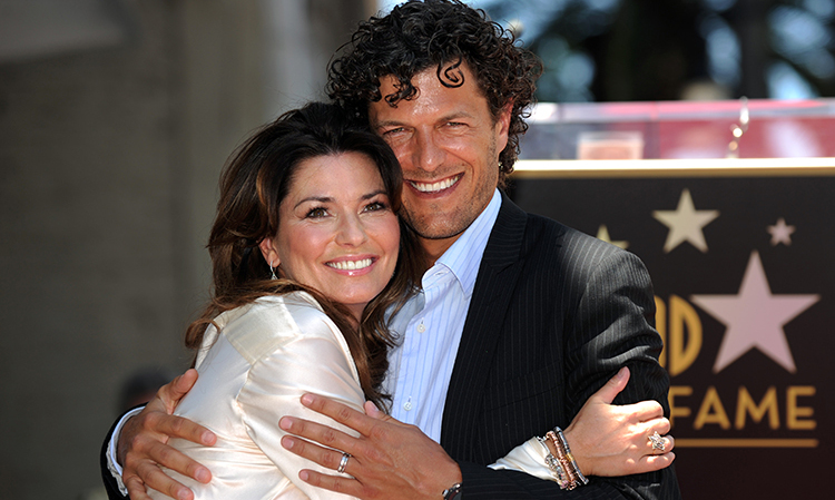 "8. Canadian singer Shania Twain poses with her husband, Frédéric Thiébaud, after being honoured with a star on the Hollywood Walk of Fame in June 2, 2011. But did you know the couple has ski-dived together? ""One day, someone said to me, 'Do you want to go jump out of an airplane?' "" she says. ""I felt like I had nothing to lose anymore, so I said, 'Why not?' And every day since then, I ask myself that question."""
