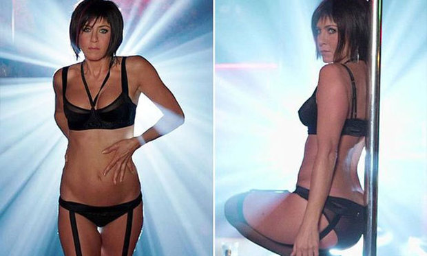 Jennifer Aniston Flaunts Her Slim Figure In Were The