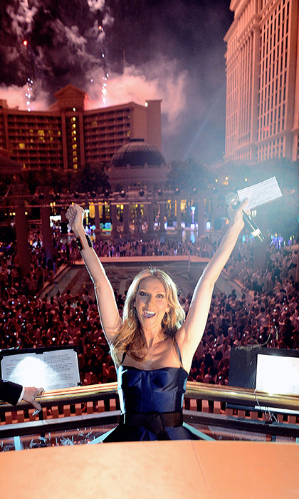 She had good reason to celebrate: The songstress lived it up for the closing party at IPW in June 12, 2013 at Ceasar's palace.