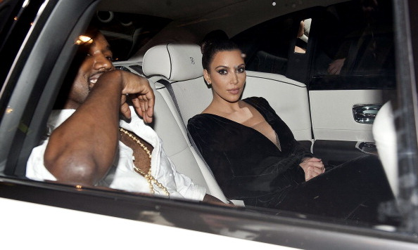 Pictured here in 2009 with Kanye West in London (not driving!), the couple have had their fair share of run-ins with the paparazzi.