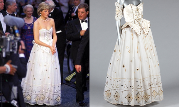 Princess Diana S Most Romantic Gown Up For Sale
