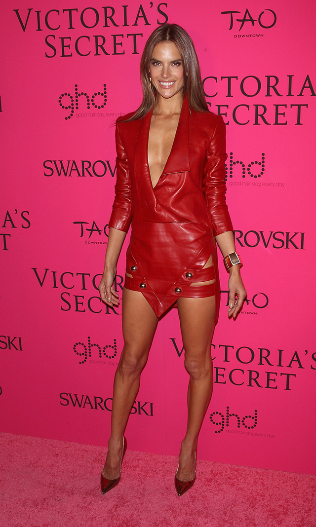 In Photos Victoria S Secret Models In Barely There