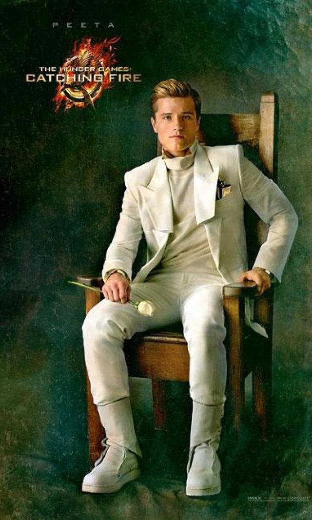 PEETA MELLARK (Josh Hutcherson): Having won the Hunger Games with Katniss last year, Peeta keeps up the charade of being in love with her, though his feelings actually seem to be genuine.