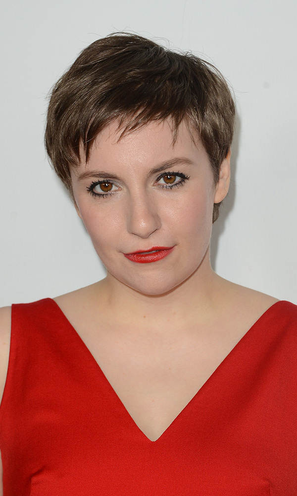 "'Girls' star and creator Lena Dunham also chose 2012 to go short, announcing the cut on her Twitter feed with the caption ""I Miley'd the sh*t out of this Saturday."" No stranger to daring moves on-screen (nudity, much?), we're not surprised she did the same with her hair, paired here with a red satin gown and red lips at the 'This Is 40' premiere."