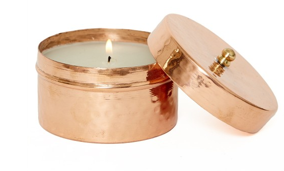 Copper Candle $38