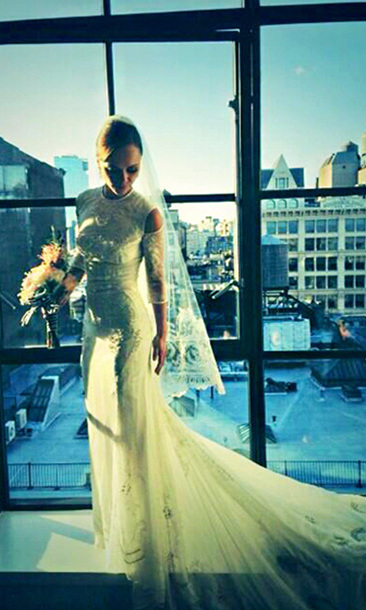 CHRISTINA RICCI AND JAMES HEERDEGEN: Three days after tying the knot with longtime boyfriend James Heerdegen on Oct. 24, actress Christina Ricci took to her Twitter account to share photos of her gorgeous, Givenchy haute couture wedding gown with fans.