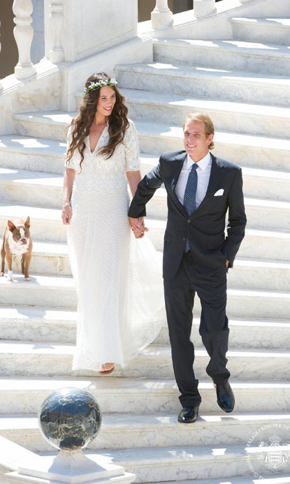 TATIANA SANTO DOMINGO AND ANDREA CASIRAGHI: Andrea Casiraghi, Monegasque royal Andrea Casiraghi wed his longtime love, Tatiana Santo Domingo – daughter of the billionaire Colombian brewing family – in a boho ceremony.