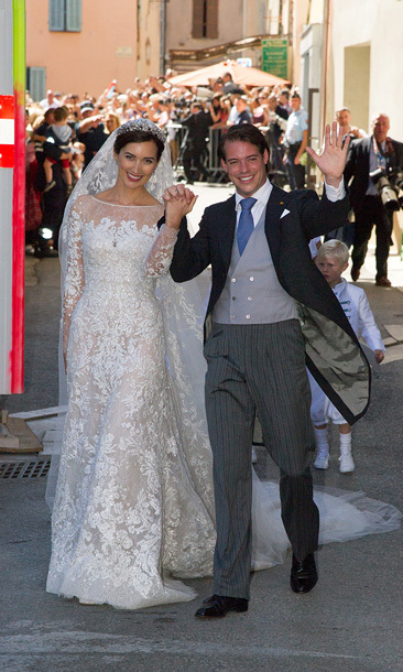 PRINCE FELIX AND CLAIRE LADEMACHER: Luxembourg's royal couple had not one, but two weddings this year: a civil ceremony on Tuesday Sept. 17, followed by a grand, religious ceremony in the Provencal town of Saint-Maxim-la-Sainte-Baum on the Saturday.