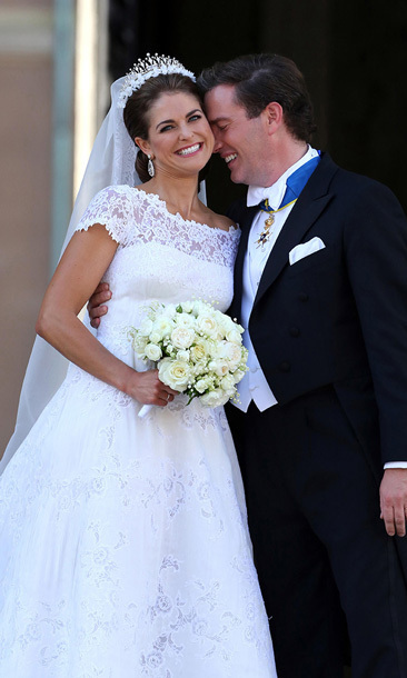 "PRINCESS MADELEINE AND CHRIS O'NEIL: The 30-year-old Princess of Sweden said ""I do"" to British-American financier Chris O'Neil in a lavish ceremony at Stockholm's Royal Palace wearing a breathtaking Valentino gown (with 13-foot train!)."