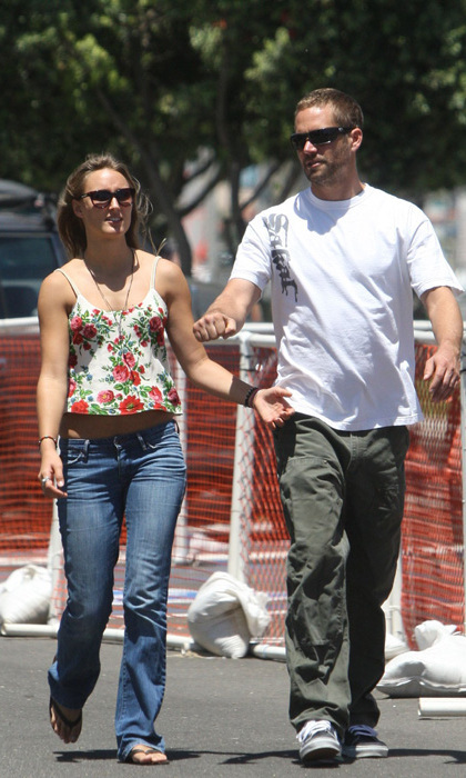 who is paul walker dating when he died