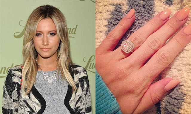 Best Of 2013 Celebrity Engagement Rings HELLO Canada