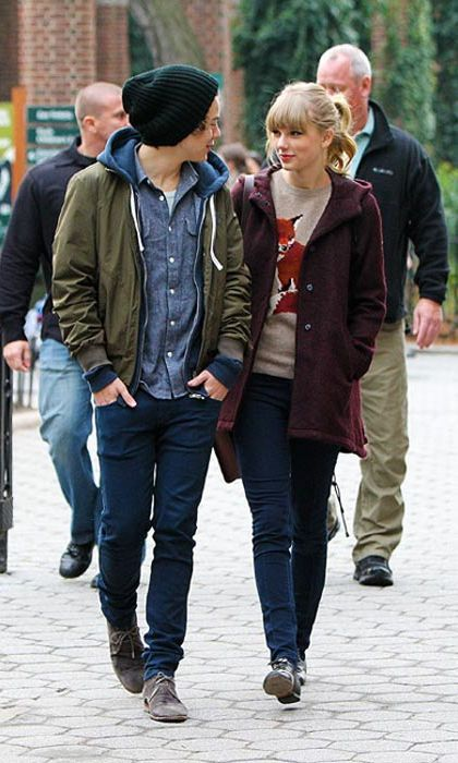 "Taylor Swift & Harry Styles  She is the princess of pop, he is Britain's hottest boy band bachelor; when Taylor Swift and Harry Styles stepped out together in public for the first time in December 2012 it seemed like a match made in music heaven.  But it was not to be. Just one month after their debut, the pair decided to call off their fledgling romance.  Taylor went on to write the hit single, I Knew You Were Trouble – reportedly about the One Direction star, and made a dig at him as she accepted an MTV award for the track.  ""I also want to thank the person who inspired this song, who knows exactly who he is, because now I've got one of these,"" she said, as the cameras panned to Harry in the crowd.   Photo: © Splash"