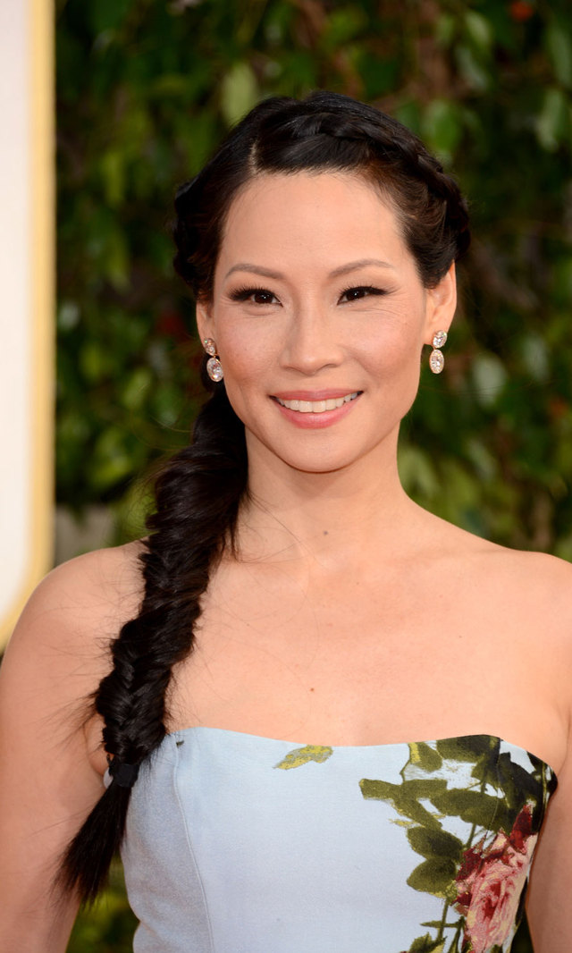 Never one to follow the crowd, Lucy Liu turned heads — and started a trend! — by sporting a long, striking fishtail braid.